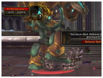 Ulduar 25 Heroic, XT-002 Deconstructor, Blood Elf Hunter, Shantotto of Gurubashi, WoW