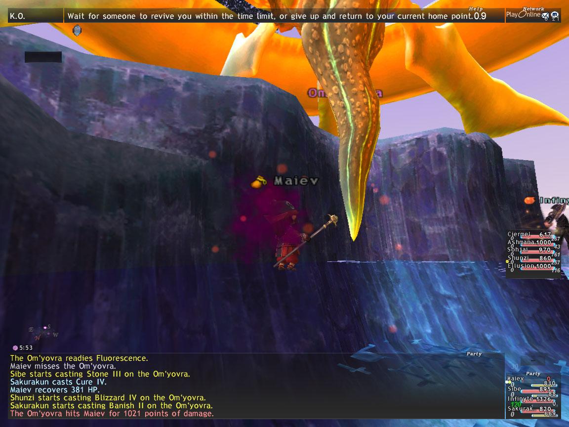 Curse you back!! Halifirien! - the StarOnion - FFXI Fenrir