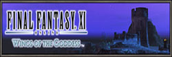 Wings of the Goddess Logo, FFXI, Banner