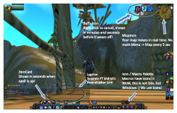 World of Warcraft's User Interface, FFXI to WoW Comparison