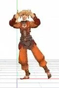 FFXI 3D Char Dancing Video!