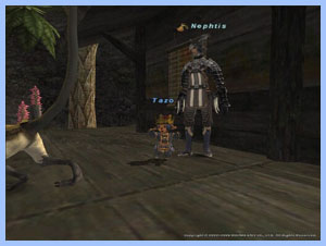 Tazo Taru with Nephtis's Stupid Player, FFXI Fenrir