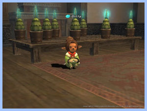 Tazo Taru, Dirty and her Plants in FFXI