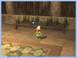 Tazo Taru, Tazochai and her plants in FFXI
